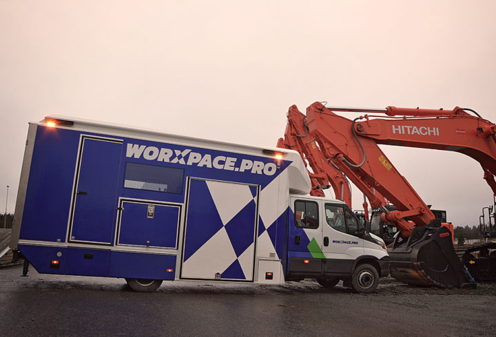 VPE uudistoode Worxpace PRO osaleb messidel Elmia Lastbil ja Transport 2019
